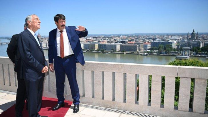 Magyar-portugál – politikusi csúcs is