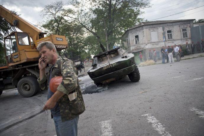 Mariupol közelében járnak az orosz harckocsik