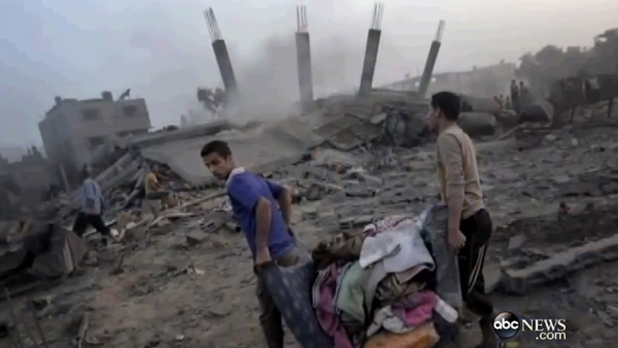 Így manipulál a cionista média: az ABC zsidónak hazudta az Izrael által lerombolt palesztin házat és lakóját