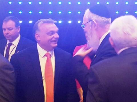 A hazánkat nácizó, Benedek pápától undorodó rabbi is gratulált Orbán győzelméhez: biztos benne, hogy a következő ciklusban is kiáll a zsidó nép mellett