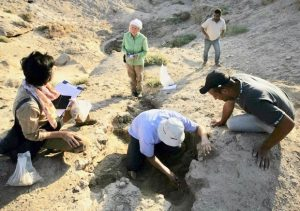Az iraki eső mosta ki az ősi műtárgyakat