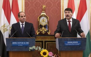 Áder: Egyiptom Magyarország legfontosabb partnere az arab régióban