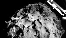 Megjöttek a Philae-ről az üstökös első felvételei