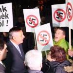 Összecsapott a Jobbik és a Most-Híd Dunaszerdahelyen (Képek)