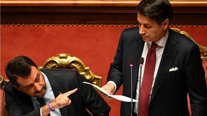 Salvini: Olaszországot elárulták és rabszolgává tették