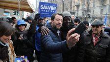 Háborognak a vörös digók a Salvini-Orbán-találkozó, vagyis az egoista és szögesdrótos Európa ellen