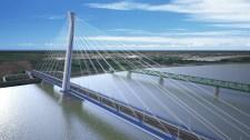 Így épül az új Duna-híd – fotók