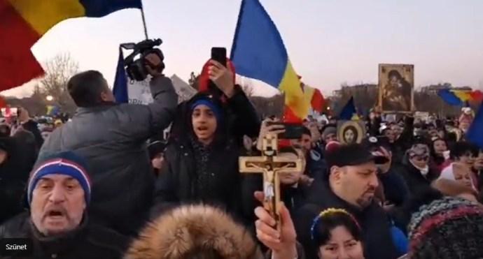 Úgy szervez oltásellenes tüntetést a Calean Neamului, hogy közben Târnoveanut letiltotta a Facebook