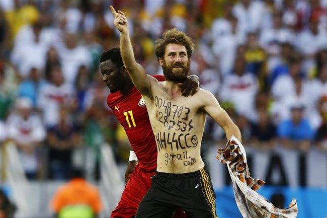 Öngól: neonácit fogtak a Németország-Ghána mérkőzésen!