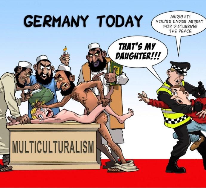 Európa a korrektség diktatúrájában él – a betolakodók is vígan használják a rasszizmuskártyát a tőlük félő rendőrök ellen