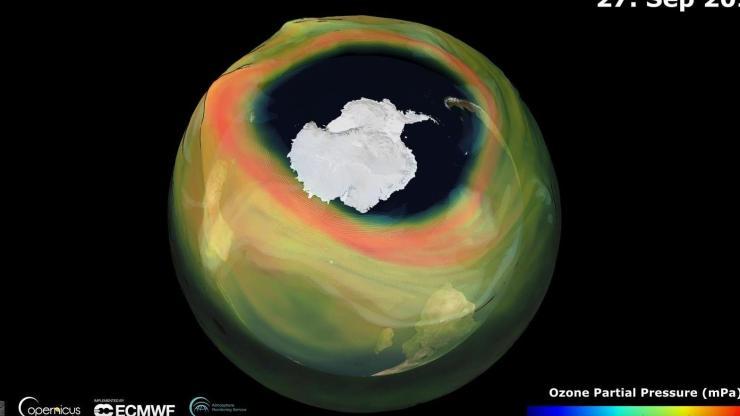 Idén a szokásosnál is nagyobb a Déli-sark fölötti ózonlyuk