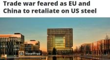 Kereskedelmi háborútól tartanak: az EU és Kína visszacsap az USA-nak