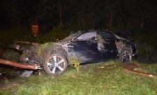 Ennyi maradt az Audiból, miután a sofőr egy árok alján parkolt le vele