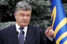 Porosenko az amerikai elnökön keresztül üzent Putyinnak