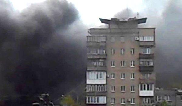Mariupolban kiújult a harc, lángokba borult a repülőtér és egy katonai egység