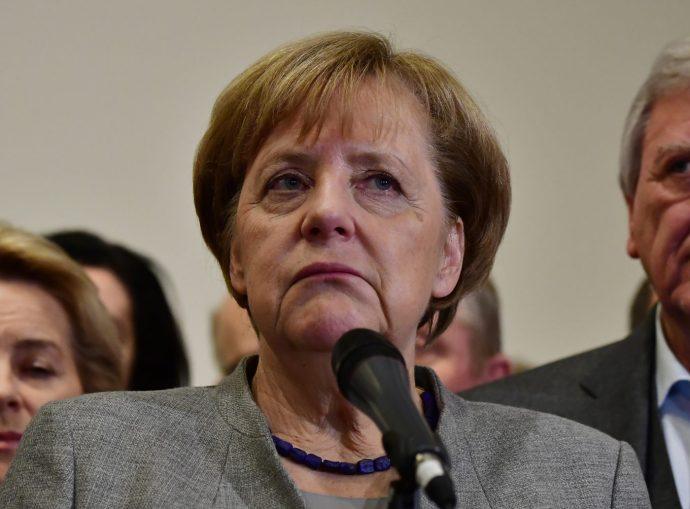 Angela Merkelről szavaztak a németek