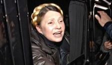 Julija Timosenko felszólalt a Maidanon