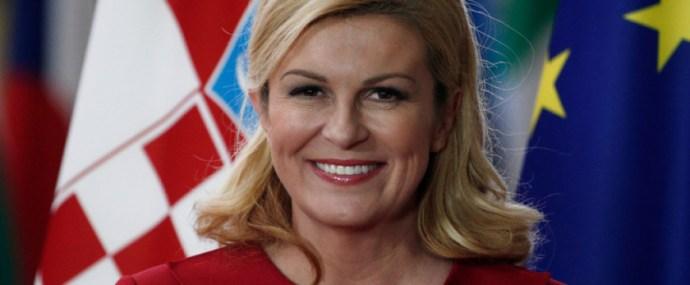 Kolinda Grabar-Kitarovic kiállt Orbán mellett
