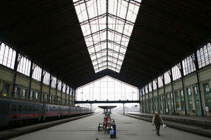 Káosz a Nyugati pályaudvaron