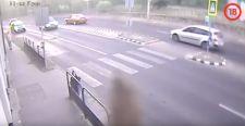 Durva videót tett közzé a magyar rendőrség egy gázolásról