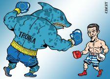Ciprasz egy hét alatt kiütötte a trojkát