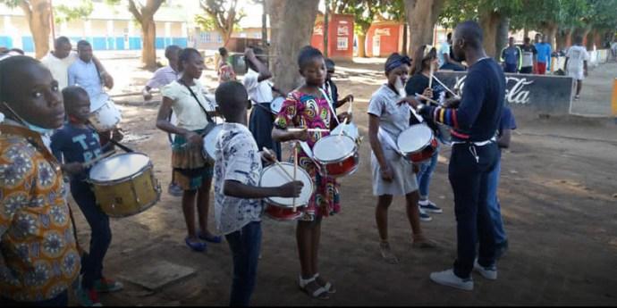 Szalézi misszió zenével Kongóban