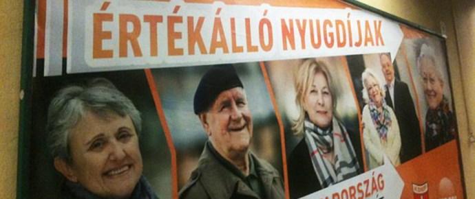 """Nyugdíjasokat sarcol a Fidesz"""