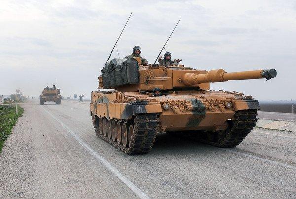 A német kormány számos fegyverexport szállítmányt engedélyezett Törökországba