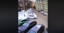 Egy biztonsági kamera felvette az eperjesi robbanást – videó