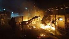 Általános sztrájk kezdődött Leszboszon, de rossz irányba akarják kiebrudalni a zavargó sáskákat