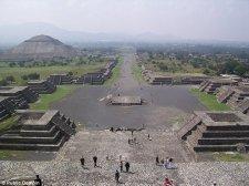 Az alvilágot szimbolizáló alagutat találtak az aztékok szent városa,Teotihuacan alatt
