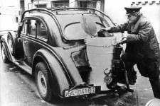 A kényszer sok érdekes megoldást hozhat – a gázautózás kezdetei
