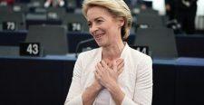 Megválasztották az első nőt, és régóta az első németet is az EB élére. Hogyan reagáltak az európai fővárosok?