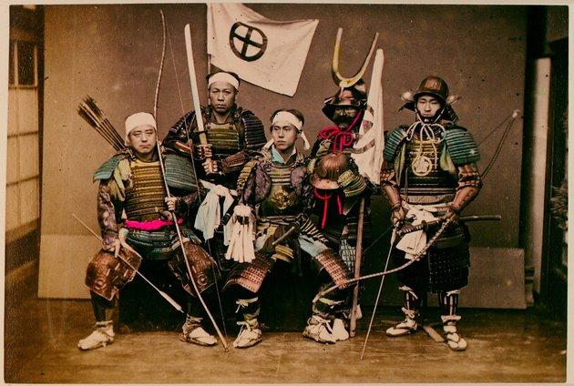 Ritka fotók 19. századi szamurájokról