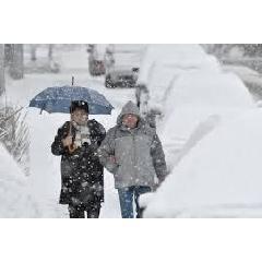 Akár 25 centiméter hó is eshet hajnalig