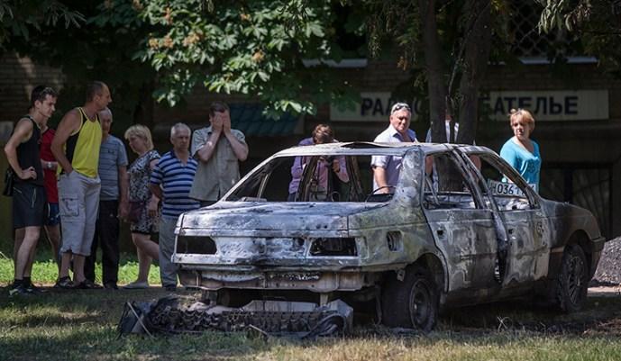 A népfelkelők gyanús tárgyakat találtak az EBESZ-megfigyelőknél