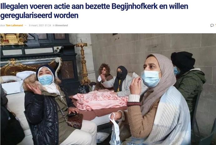Ha fehér a bőröd színe, egyből bíróság elé állítanak, ha migráns vagy, bármit megtehetsz Belgiumban
