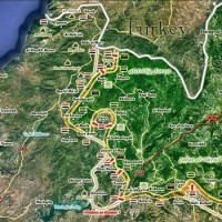 A szíriai kormányerők elfoglalták az Al-Ziwajkat-hegységet Északkelet-Lattakiában