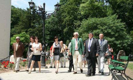 A Károlyi grófok leszármazottai találkoztak Nagykárolyban