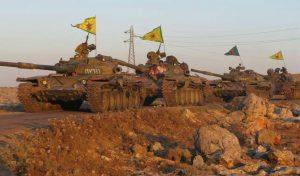 Szíriai kormányerők vonalain át küldtek erősítést a kurdok Afrinba