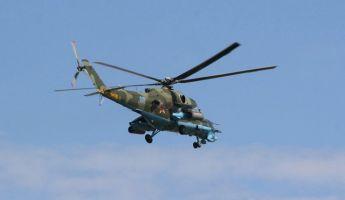 Lezuhant egy MI-8-as helikopter