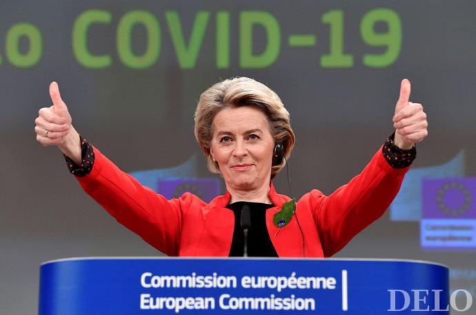 Von der Leyen: Az uniós népesség negyede megkapta legalább az első adag oltást