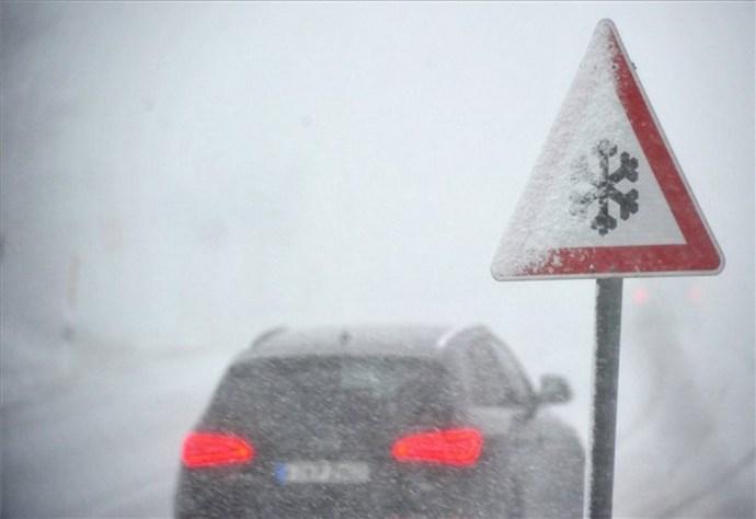 Tombol a hóvihar Székelyföldön és Európában