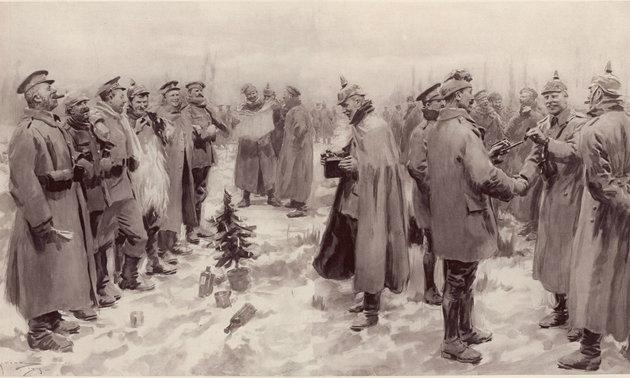 Harc helyett közös éneklés – ilyen volt a karácsonyi tűzszünet a lövészárkokban