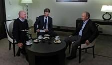 Vlagyimir Putyin elnök interjúja az orosz TASS hírügynökségnek