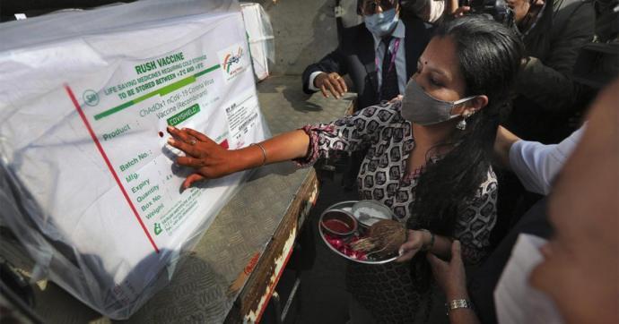 India megkezdte a vakcinaexportálást