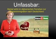 Ismét lebukott Merkel: az afgán tévékben csalogatta a migránsokat Németországba
