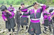 Hosszú hajú lányok faluja