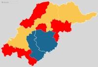 Sorra veszti el északkeleti fellegvárait a Jobbik, kapaszkodik vissza a régi baloldal