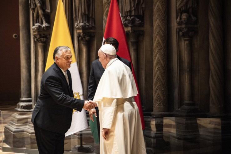 Orbán: Ferenc pápa ne hagyja elveszni a keresztény Magyarországot